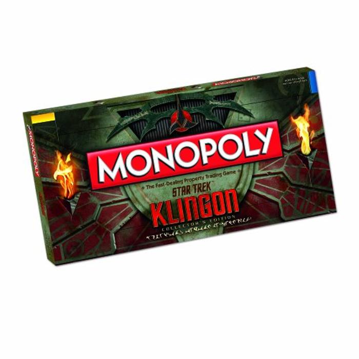 Monopoly: Star Trek Klingon Collector's Edition