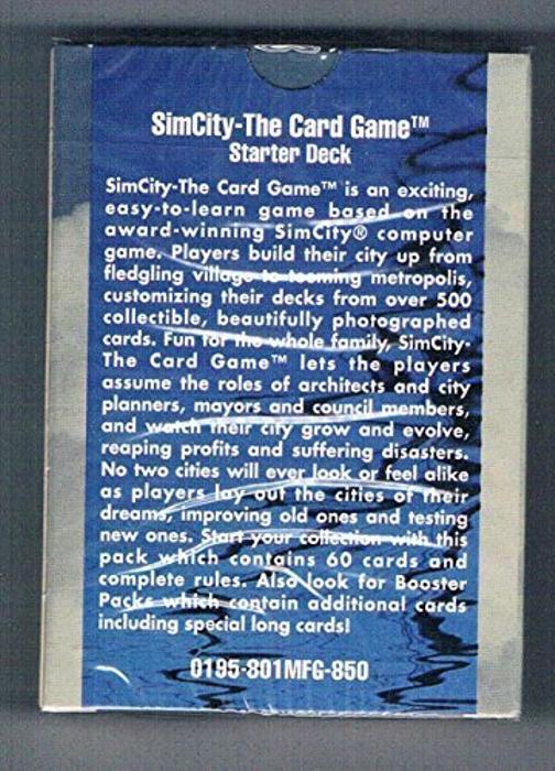 "SIM City ""The Card Game"""