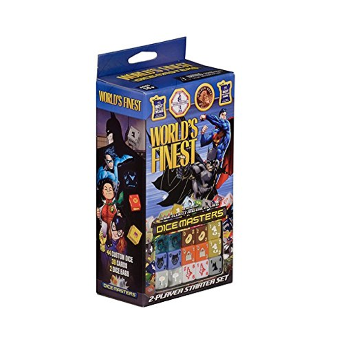 Dice Masters: DC Comics World's Finest Starter Set