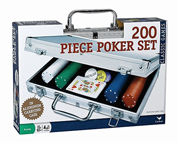 200 pc Poker Set In Aluminum Case (Styles Will Vary)