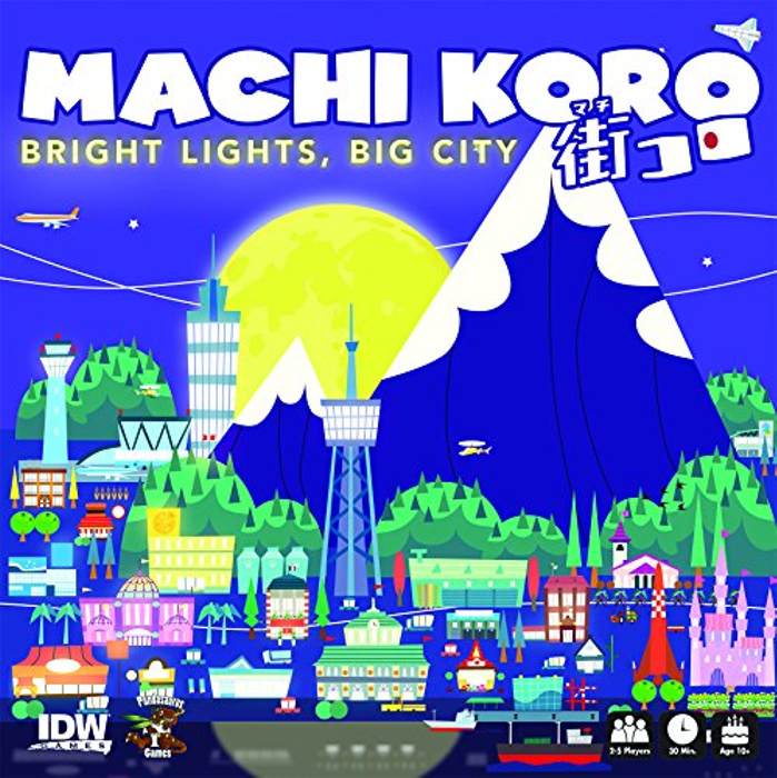 Machi Koro Bright Lights Big City Card Game