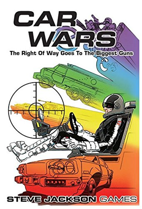 Steve Jackson Games Car Wars Classic Board Game
