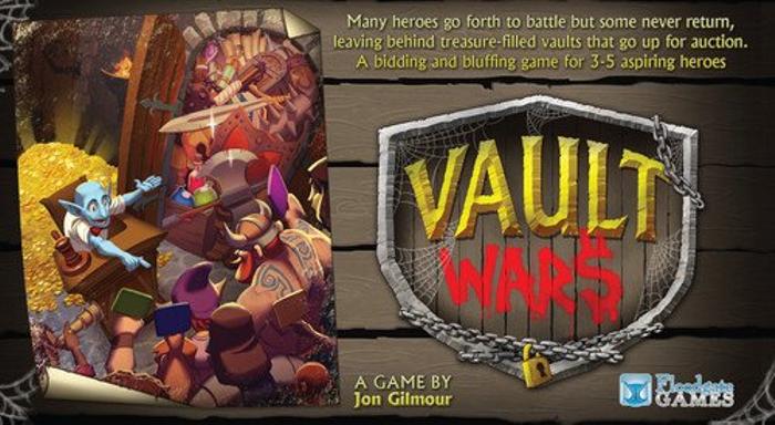 Vault Wars Board Game
