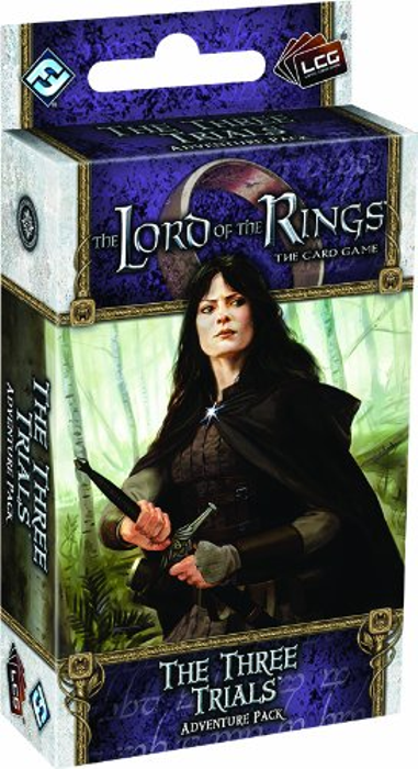The Lord of the Rings: The Card Game - The Three Trials Adventure Pack