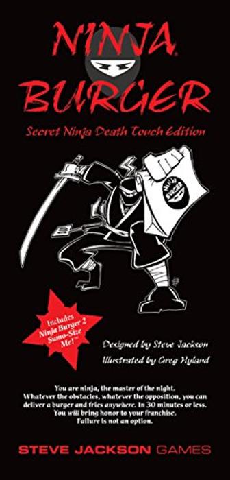 Ninja Burger: Secret Ninja Death Touch Edition