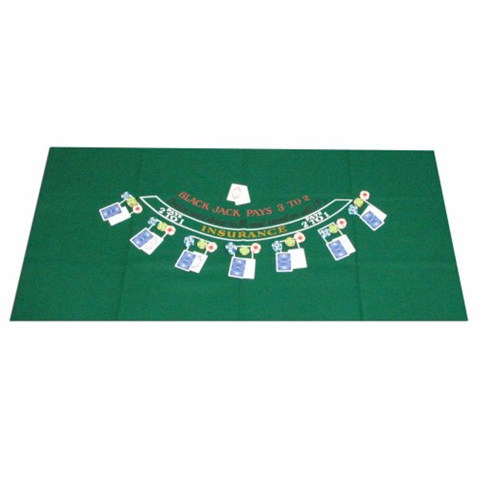 405694 Blackjack Layout, 36 x 72 Inch