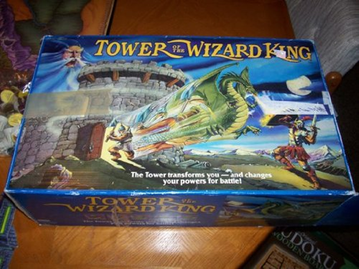 Tower Of The Wizard King Board Game