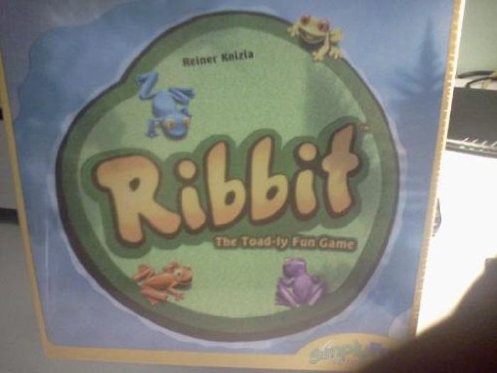 Ribbit the Toad-ly Fun Game