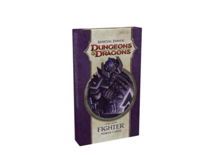 Dungeons & Dragons - Martial Power Fighter Power Cards