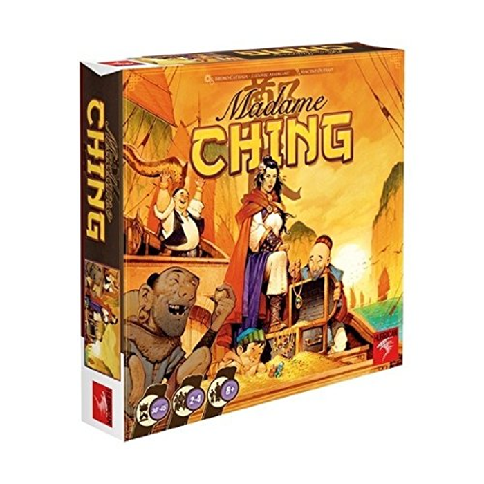 Asmodee Madame Ching Board Game