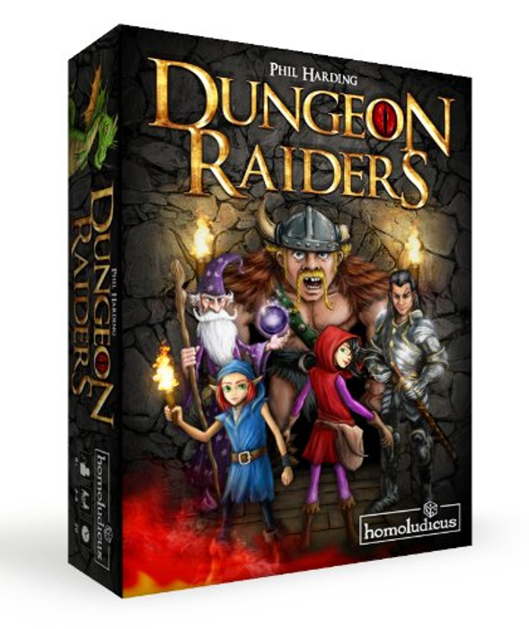 Dungeon Raiders Board Game