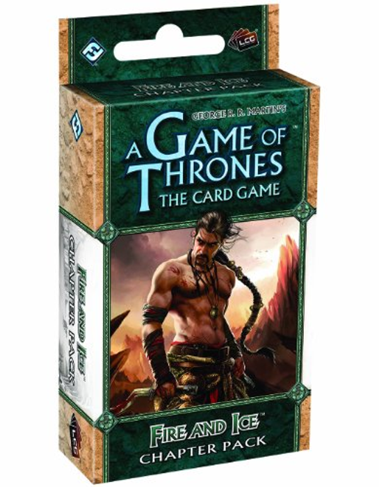 Fantasy Flight Games A Game of Thrones: The Card Game - Fire and Ice Chapter Pack