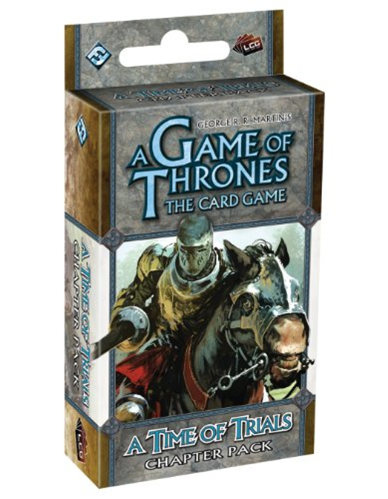 Fantasy Flight Games A Game of Thrones: The Card Game - A Time Of Trials Chapter Pack (Revised)