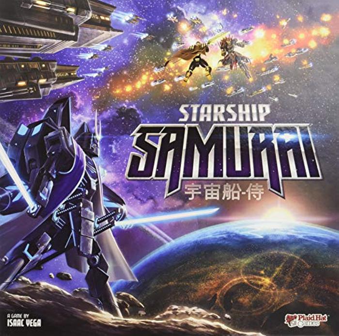 Plaid Hat Games Starship Samurai Board Game