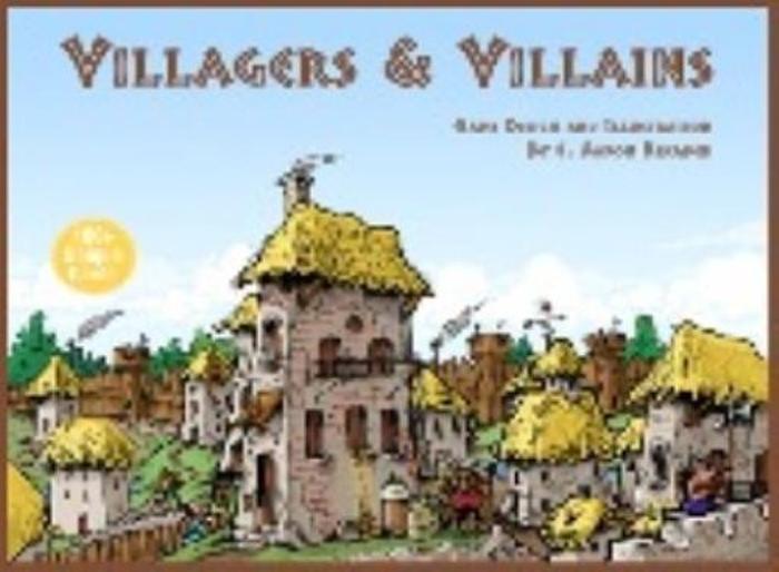 Studio 9 Games Villagers & Villains Board Game