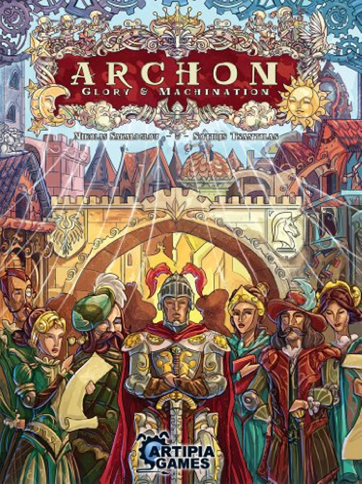 Artipiagames Archon: Glory and Machination Board Game