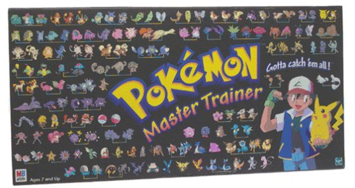 Pokemon Master Trainer 2001