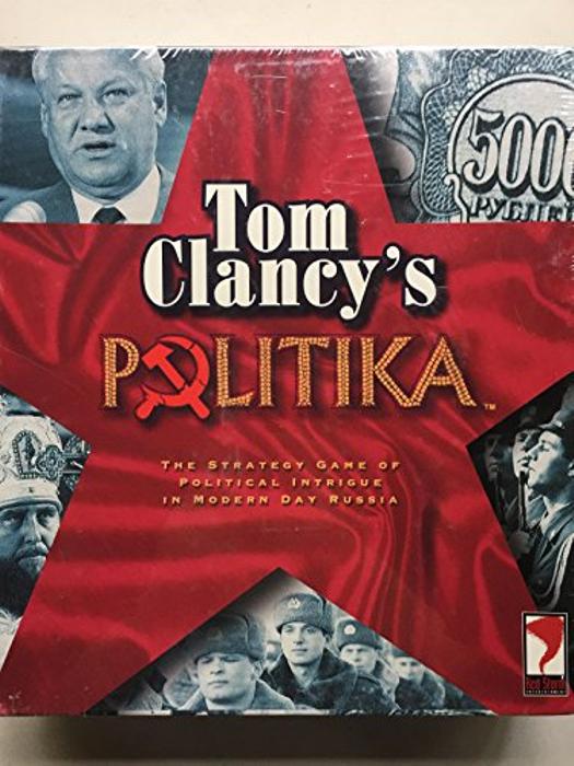 Tom Clancy's Politika Board Game 1997  sealed