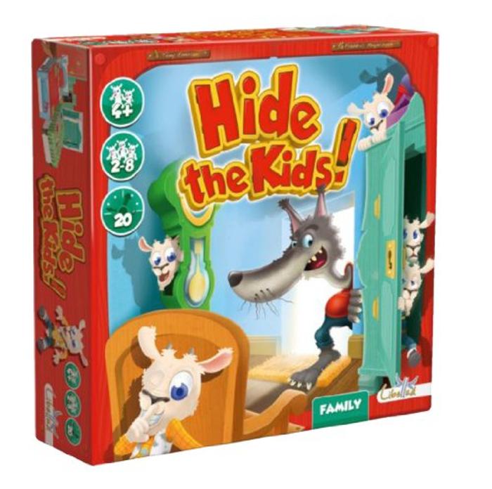 Asmodee Hide The Kids Board Game