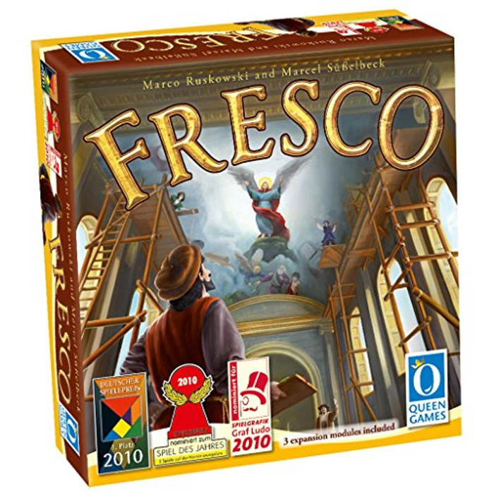 Asmodee Fresco With Expansion 1 2 3