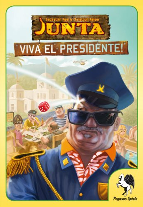 Pegasus spiele - Junta - Viva El Presidente Allemand
