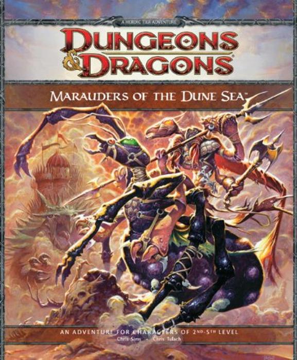 Dungeons & Dragons: Marauders of the Dune Sea
