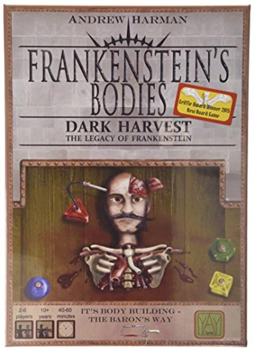 Frankensien Bodies Yay Dark Harvest Board Game by