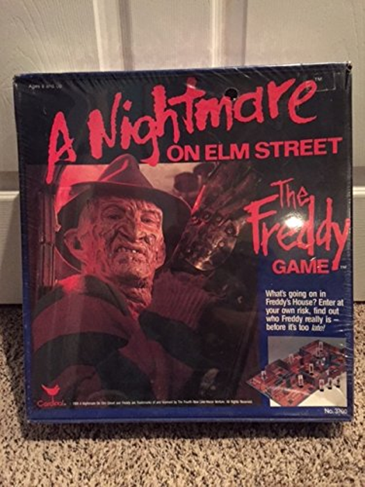 1989 the Freddy Game From a Nightmare on Elm Street