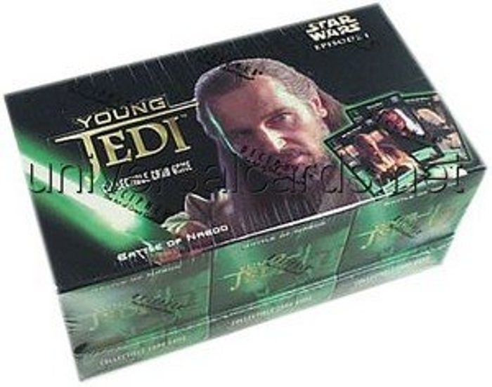 Young Jedi CCG: Battle of Naboo Sealed Starter Deck Box