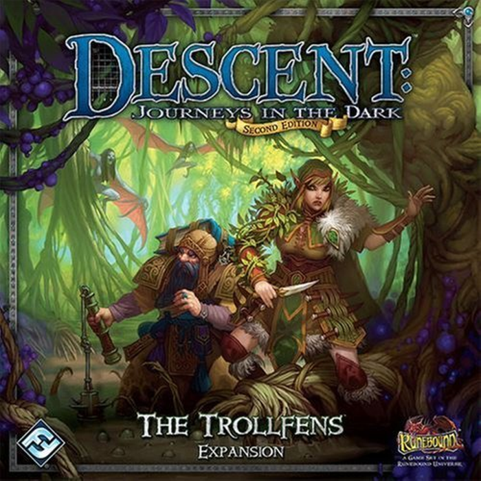 Descent: Journeys in the Dark 2nd Edition - The Trollfens Expansion
