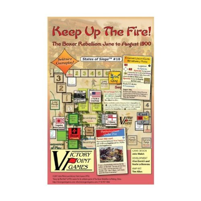 Keep Up The Fire! The 55-Day Siege and Relief of Peking, 1900 Board Game
