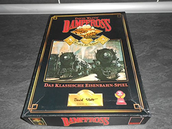 Dampfross - Boxed Railway Game By David Watts