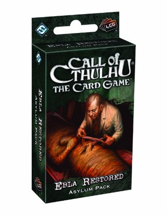 Call of Cthulhu: The Card Game - Ebla Restored Asylum Pack