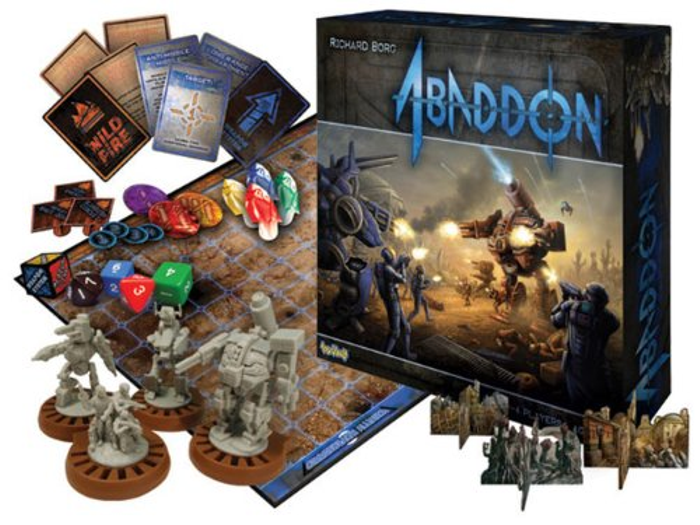 Toy Vault Abaddon Board Game by Richard Borg