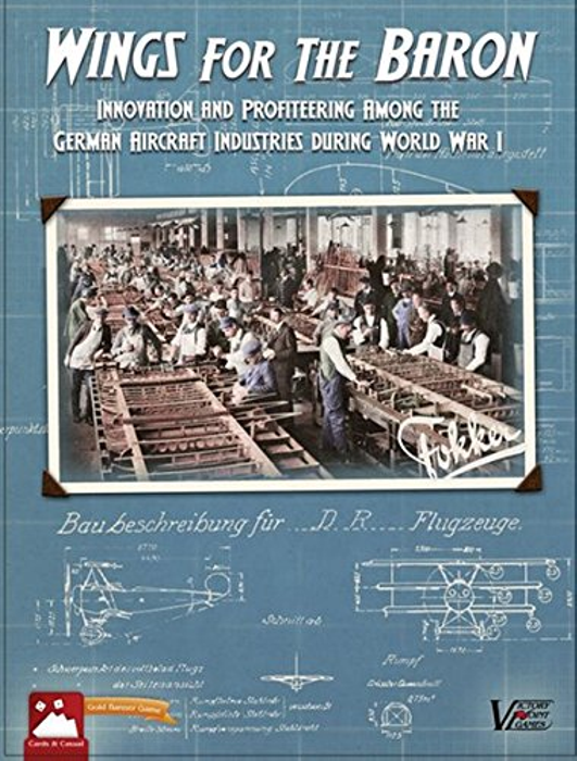 Wings for the Baron - WWI Industrial Race Boxed Board Game