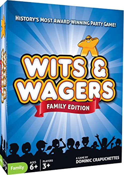 Wits & Wagers Family Edition - Kid Friendly Party Game and Trivia