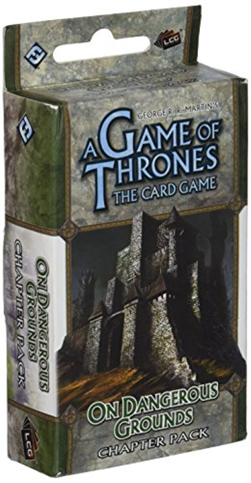 Fantasy Flight Games A Game of Thrones: The Card Game - On Dangerous Ground Chapter Pack