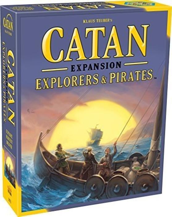 Catan: Explorers and Pirates Expansion