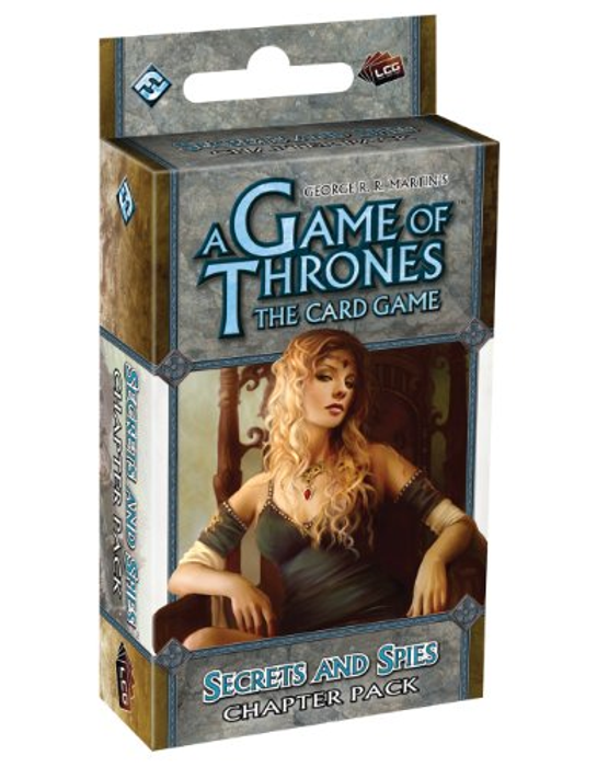 Fantasy Flight Games A Game of Thrones: The Card Game - Secrets and Spies Chapter Pack (Revised)