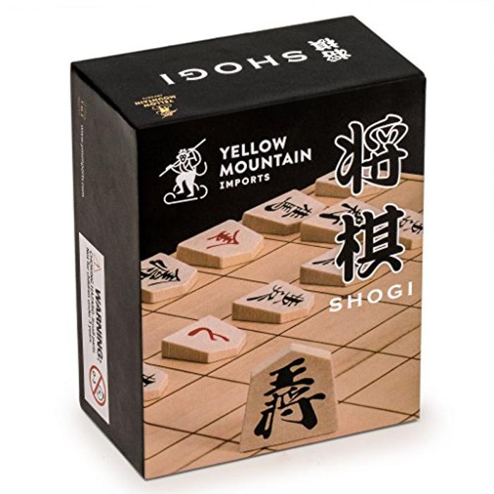 Full Set of Wooden Shogi Japanese Chess Pieces / Koma