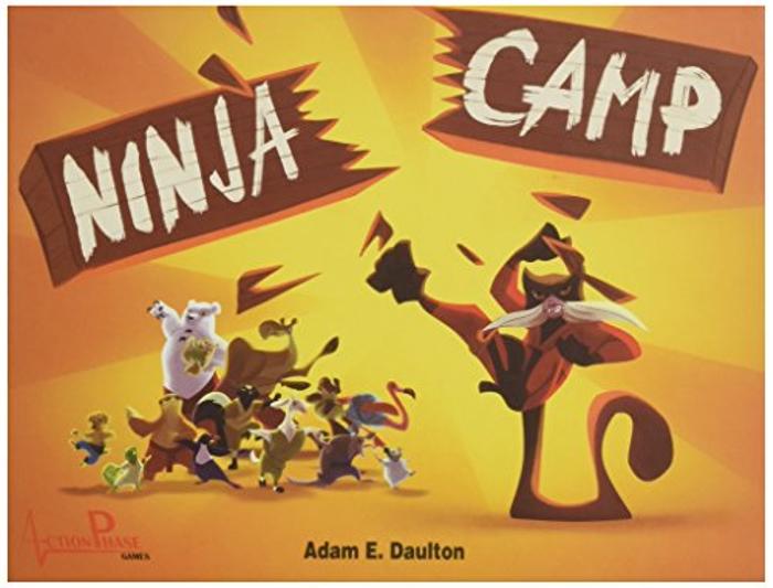 Ninja Camp Board Game