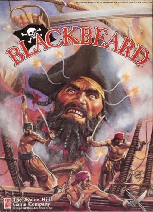 Avalon Hill Blackbeard Game of Piracy