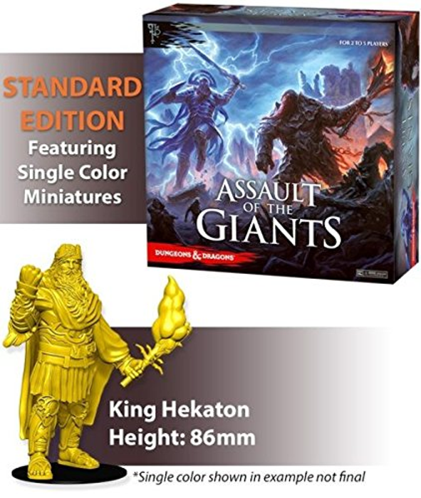 Dungeons & Dragons Assault of the Giants Board Game Standard Edition