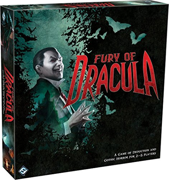 Fantasy Flight Games Fury of Dracula 3rd Edition