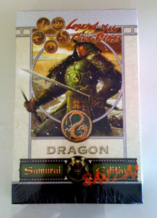 L5R CCG Samurai Edition Core Set 2.0 Banzai Dragon Clan Starter Deck