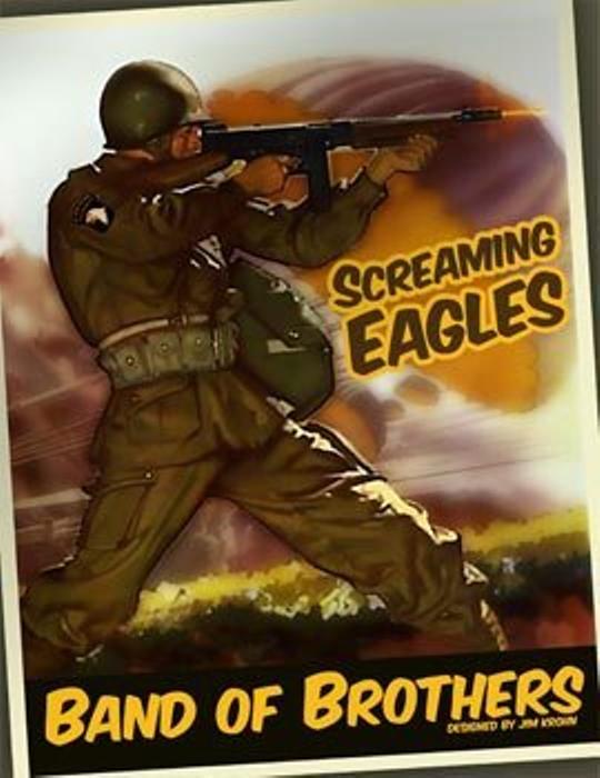WOG: Band of Brothers Screaming Eagles Board Game