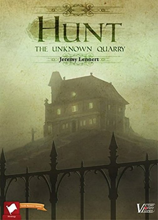Hunt: The Unknown Quarry - Deductive Combat Boxed Board Game