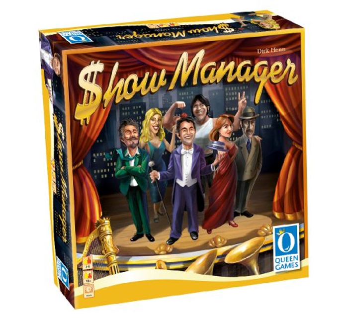 Show Manager - Board Game (6 Player)