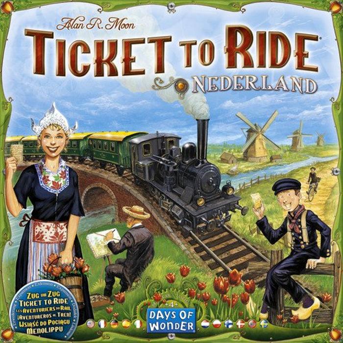 Ticket to Ride: Map Collection Volume 4 - Nederland