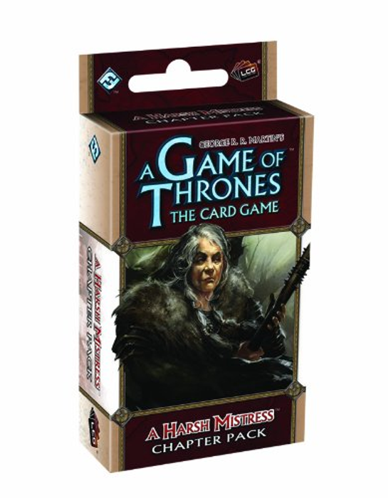 A Game of Thrones: The Card Game - A Harsh MistressChapter Pack